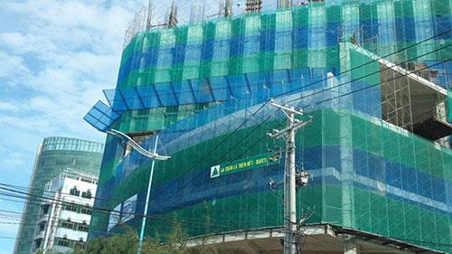 Lưới công trình chống rơi