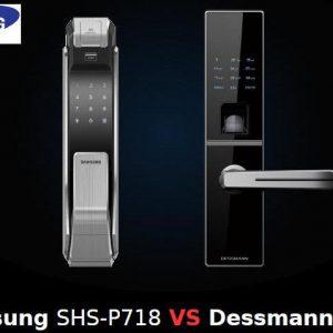 Khóa cửa kĩ thuật số Samsung