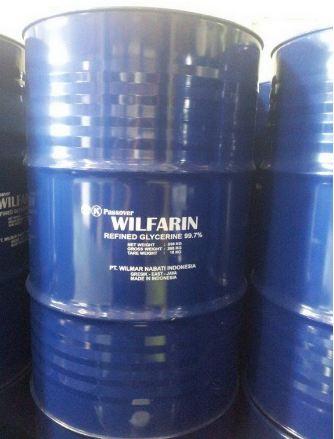 Refined Glycerine 99,7% Wilmar