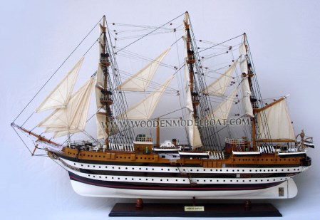 Amerigo Vespucci Ship Model