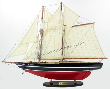 Bluenose Boat Model