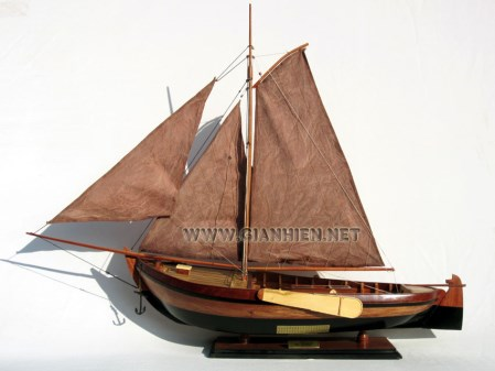 Botter Belgium Boat Model