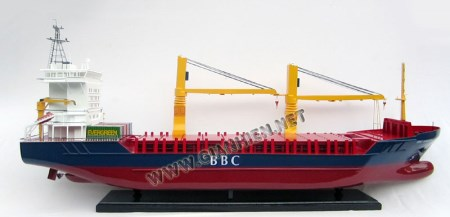 Break Bulk Ship Model