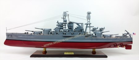 USS Arizona Ship Model