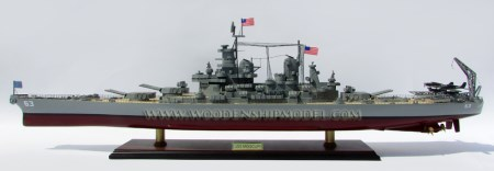 USS Missouri Ship Model