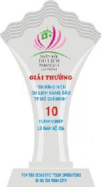 Top 10 doanh nghiệp lữ hành quốc tế hàng đầu - 2013