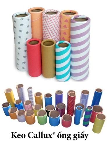 Keo Callux ống giấy