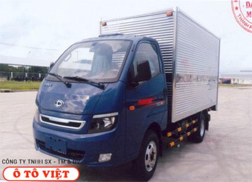 Xe tải Teraco 1T9 thùng kín