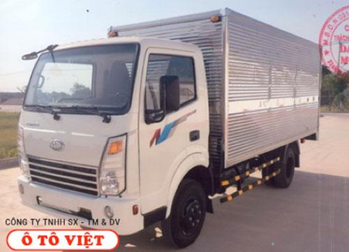 Xe tải Teraco 2T3 thùng kín