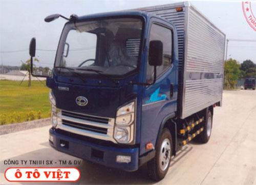 Xe tải Teraco 2T4 thùng kín