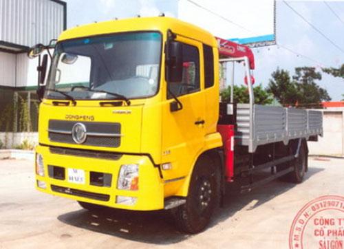 Xe tải cẩu DONGFENG HH-B170-33-TM42