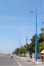 Trụ thép chiếu sáng Pole-04
