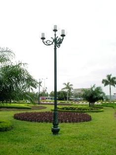 Trụ đèn trang trí TC07-TH04