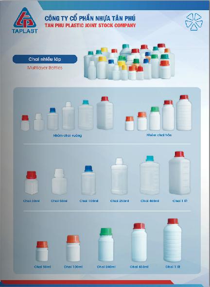 Chai nhựa nhiều lớp