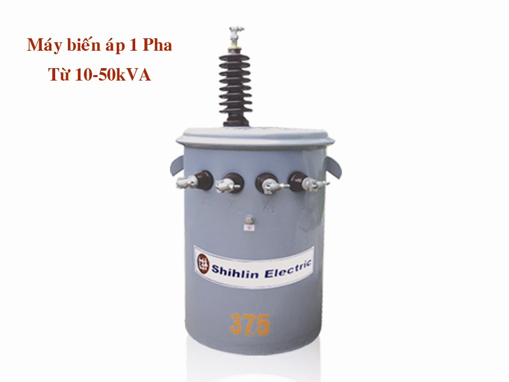 Máy biến áp 1 pha từ 10-50 kVA