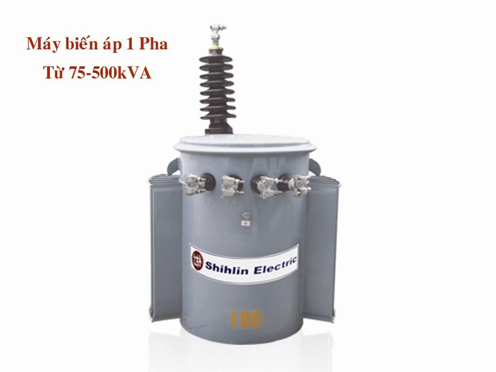 Máy biến áp 1 pha từ 75-500 kVA