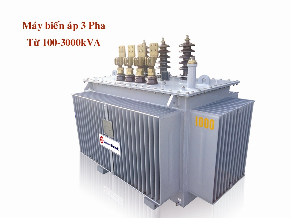 Máy biến áp 3 pha từ 100-3000 kVA