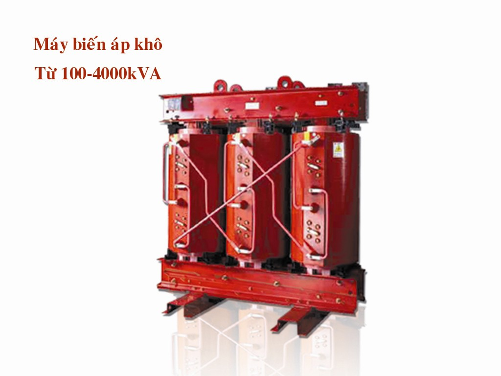 Máy biến áp khô từ 100-4000 kVA