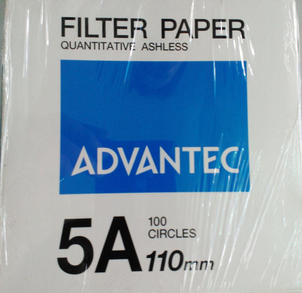 Giấy lọc Advantec NO.5A phi 110mm