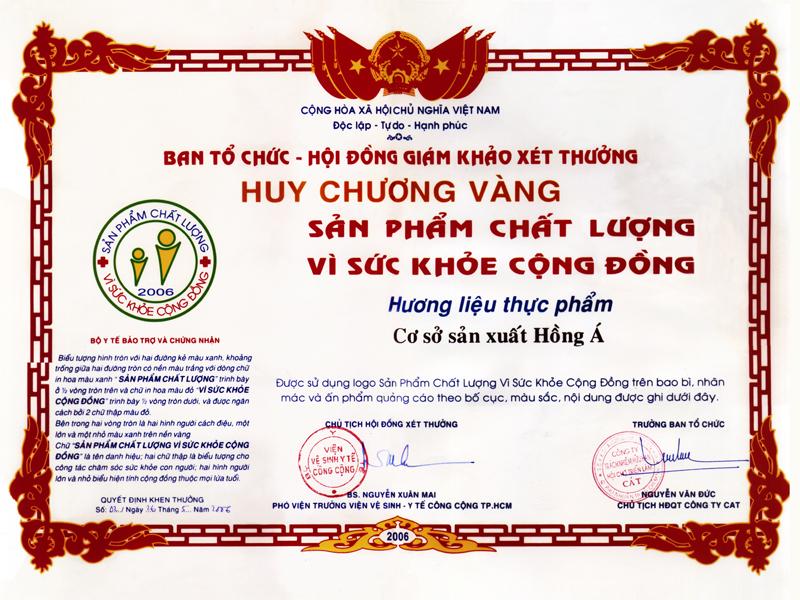 HCV sản phẩm chất lượng vì sức khỏe cộng đồng