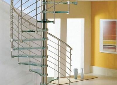 Cầu thang inox kiếng