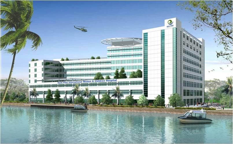 Dự án bệnh viện Hạnh Phúc - Tỉnh Bình Dương