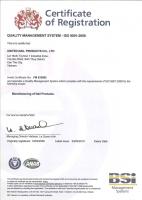 Chứng nhận sản phẩm đạt tiêu chuẩn ISO 9001:2008
