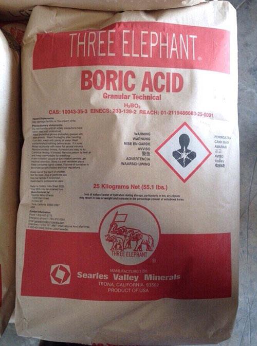 Boric Acid - H3BO3