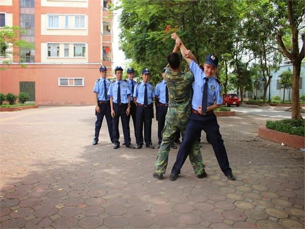 Đào tạo nhân viên bảo vệ