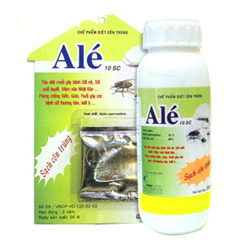Ché phẩm diệt côn trùng Alé- 10SC