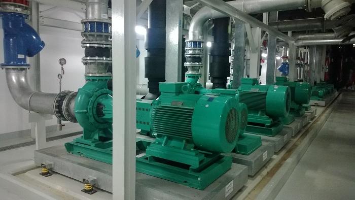 Thi công hệ thống cơ điện