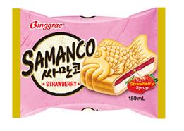 Kem bánh cá Samanco vị dâu