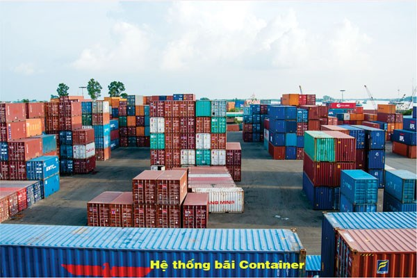 Kho bãi container