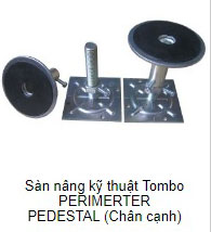 Sàn nâng kỹ thuật Tombo chân cạnh