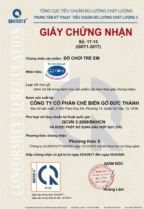 Tiêu chuẩn QCVN 3:2009/BKHCN