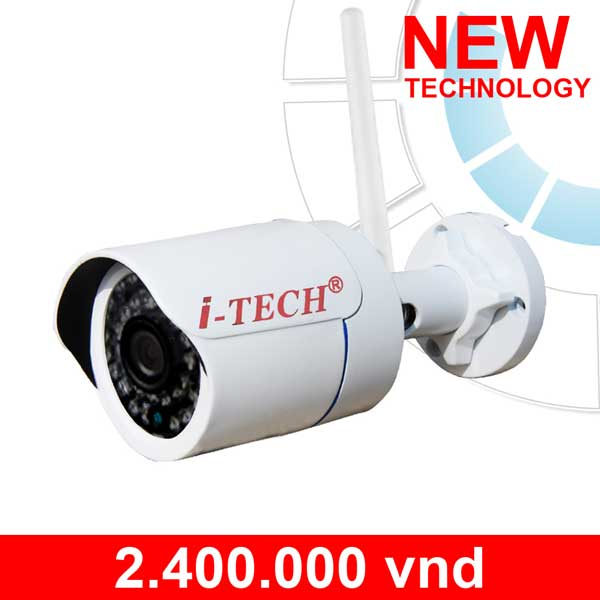 Wireless IR Bullet IP Camera