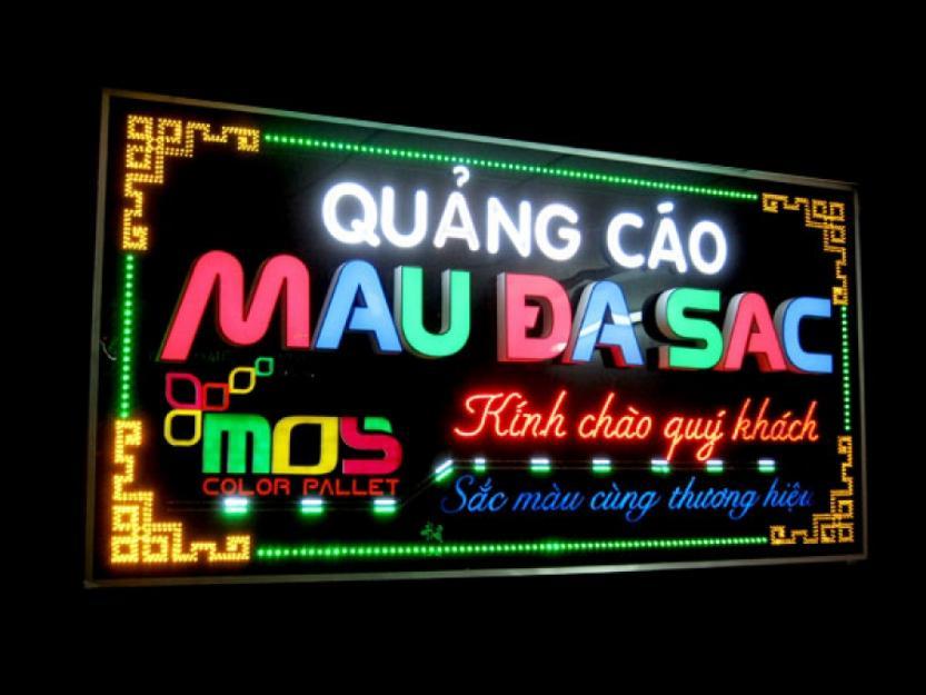 Quảng cáo đèn Led, Neon