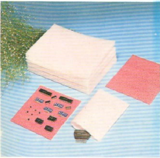Mút xốp tấm và túi chống từ tính
