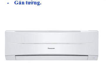Máy lạnh Panasonic gắn tường