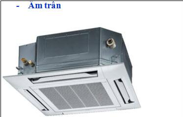 Máy lạnh Panasonic âm trần