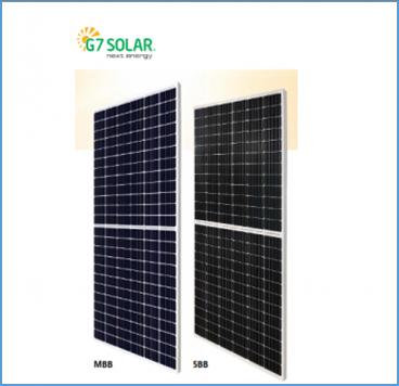 Pin năng lượng mặt trời G7 Solar