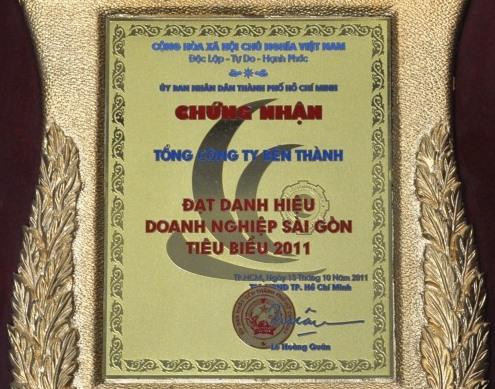 Doanh nghiệp Sài Gòn tiêu biểu 2011