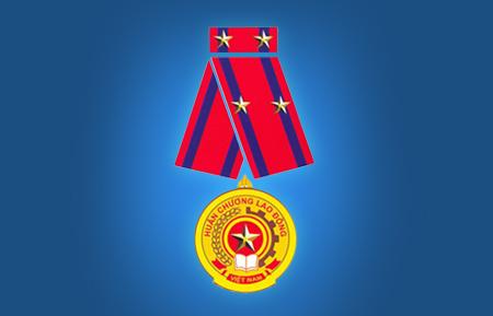Huân chương lao động hạng 2 năm 2010