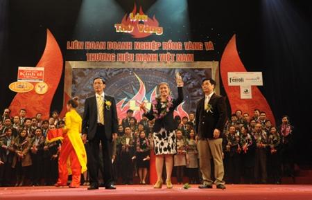 Thương hiệu vàng Top 100 thương hiệu mạnh 2011-2012