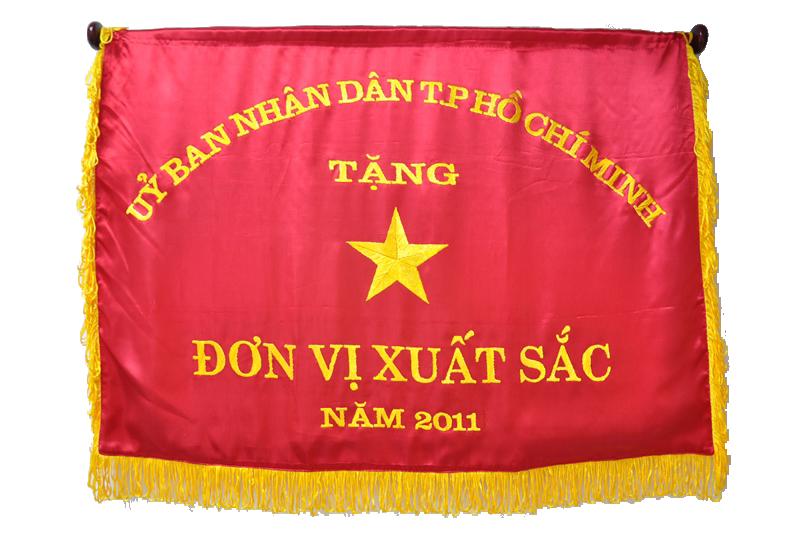 Cờ thi đua của UBNG TP năm 2008-2009-2010-2011
