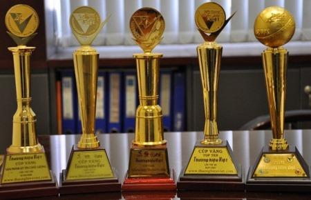 Cúp vàng thương hiệu việt 2007-2008-2009-2011