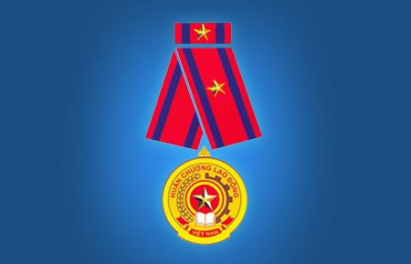 Huân chương lao động hạng 3 năm 2005