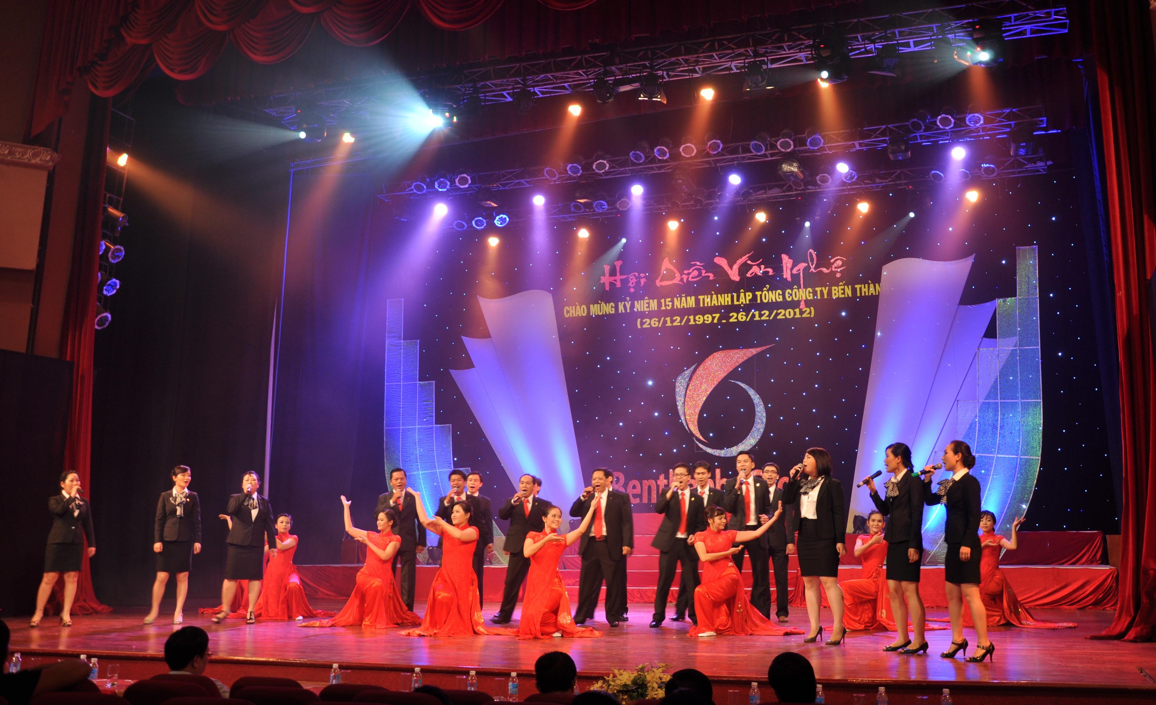 Hội diễn văn nghệ kỷ niệm 15 năm thành lập