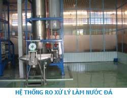 Hệ thống xử lý nước đá