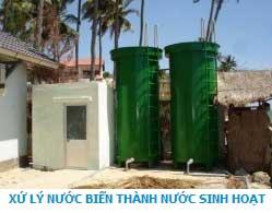 Xử lý nước biển thành nước sinh hoạt